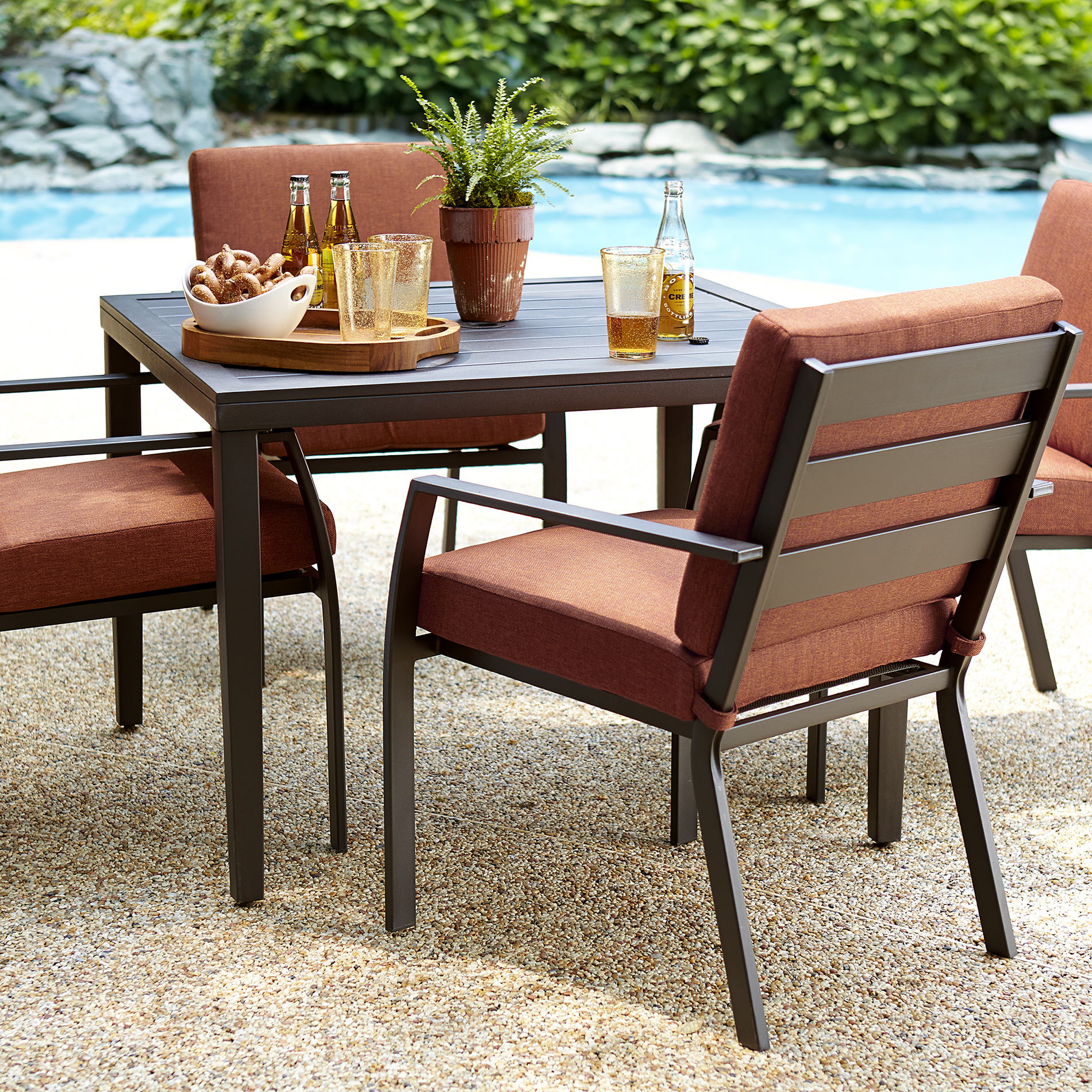 Outdoor Chair Set Ty Pennington Brookline 5 Piece Dining Set Limited