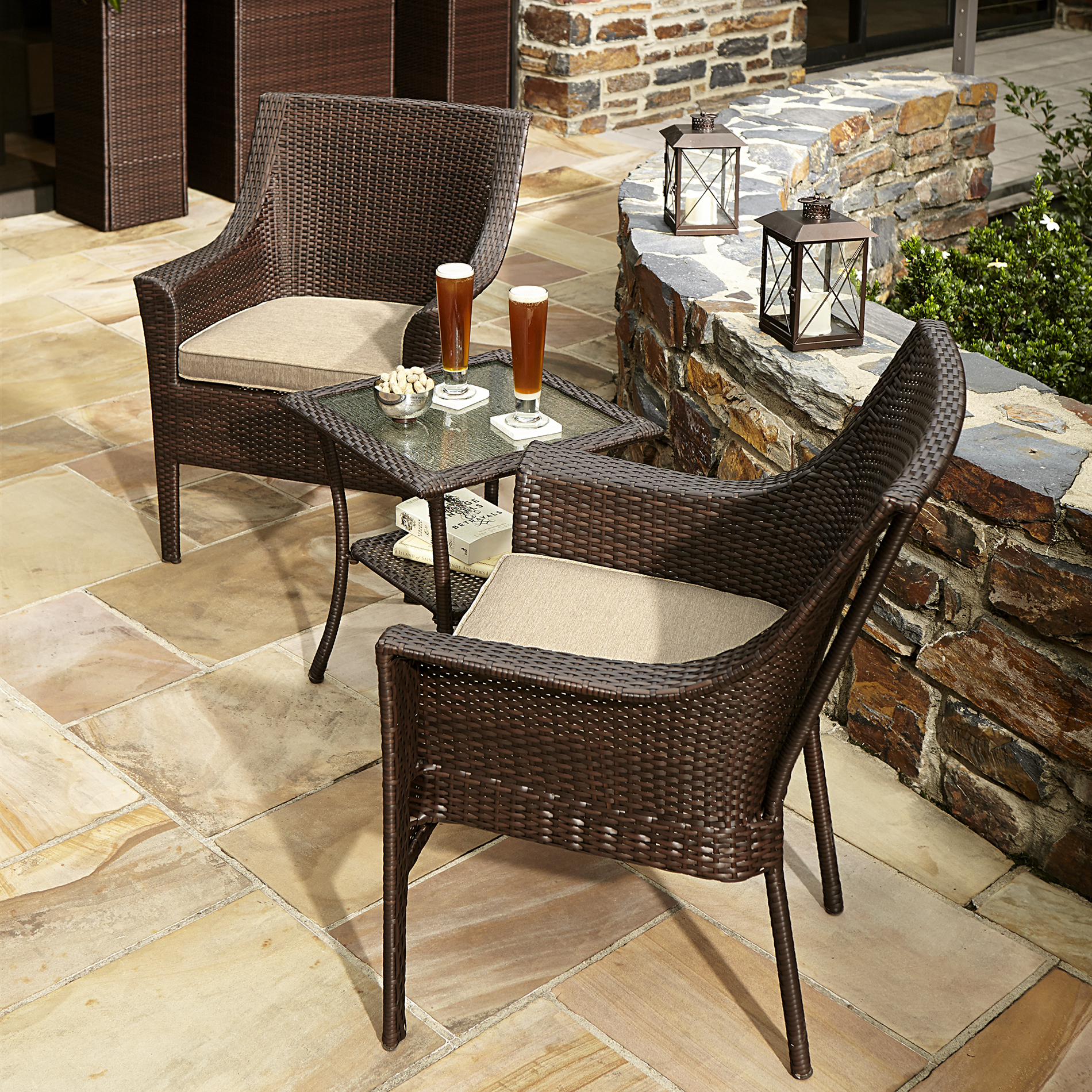 Ty Pennington Style Parkside 3 Piece Bistro Set - Outdoor