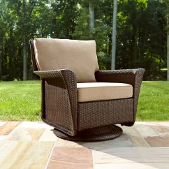 Swivel Chair Outdoor Potenza Tall High Back Ty Pennington Style Parkside In Tan