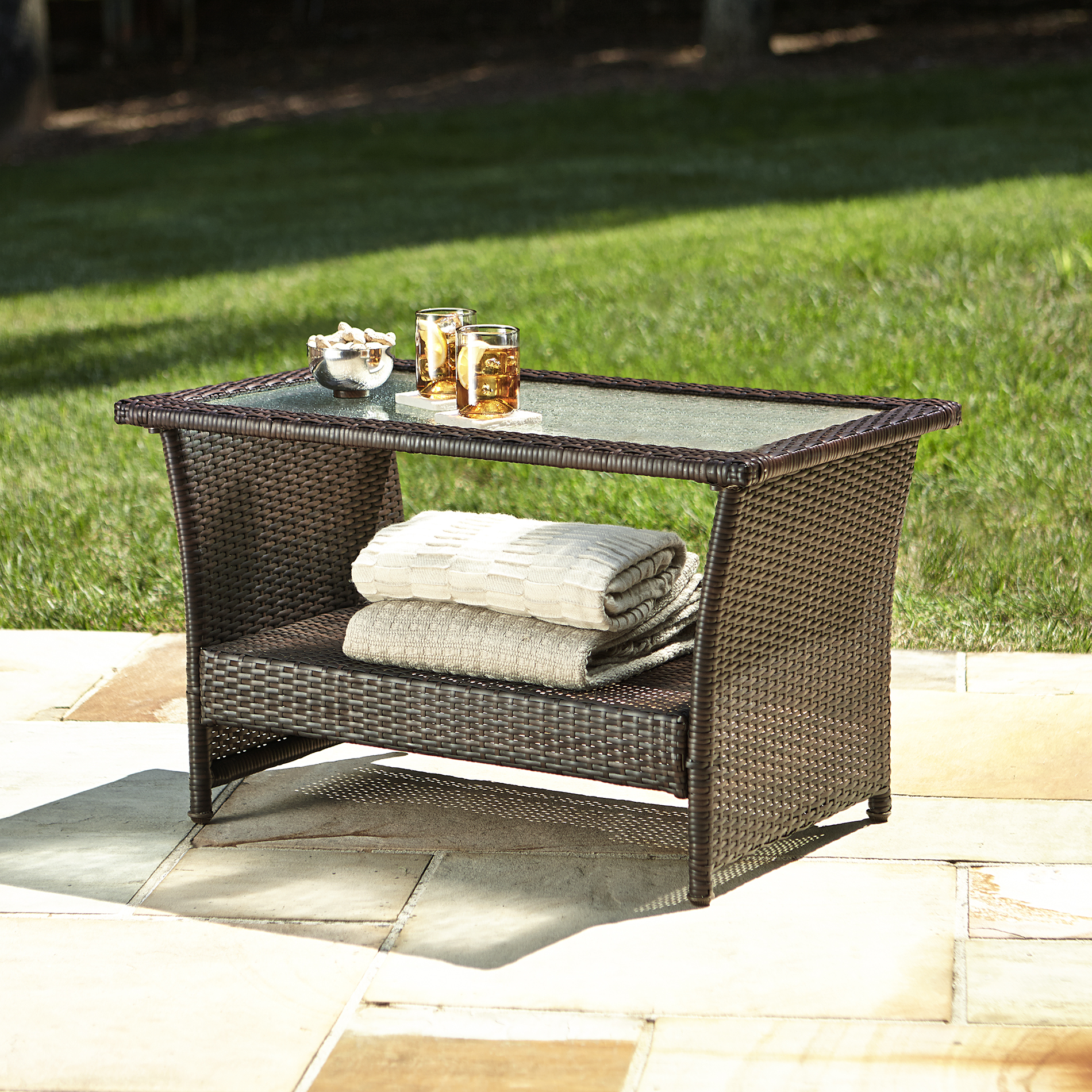 Ty Pennington Style Parkside Coffee Table - Outdoor Living