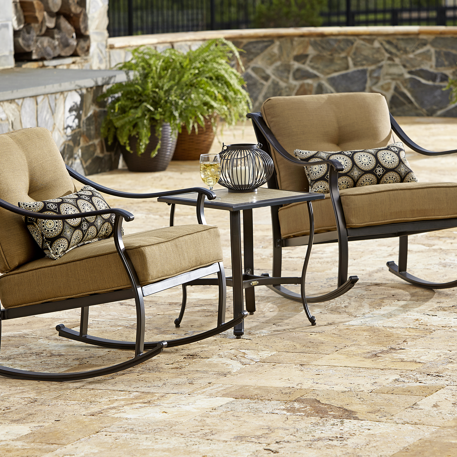 La Boy Outdoor Landon 3 Piece Bistro Set - Limited