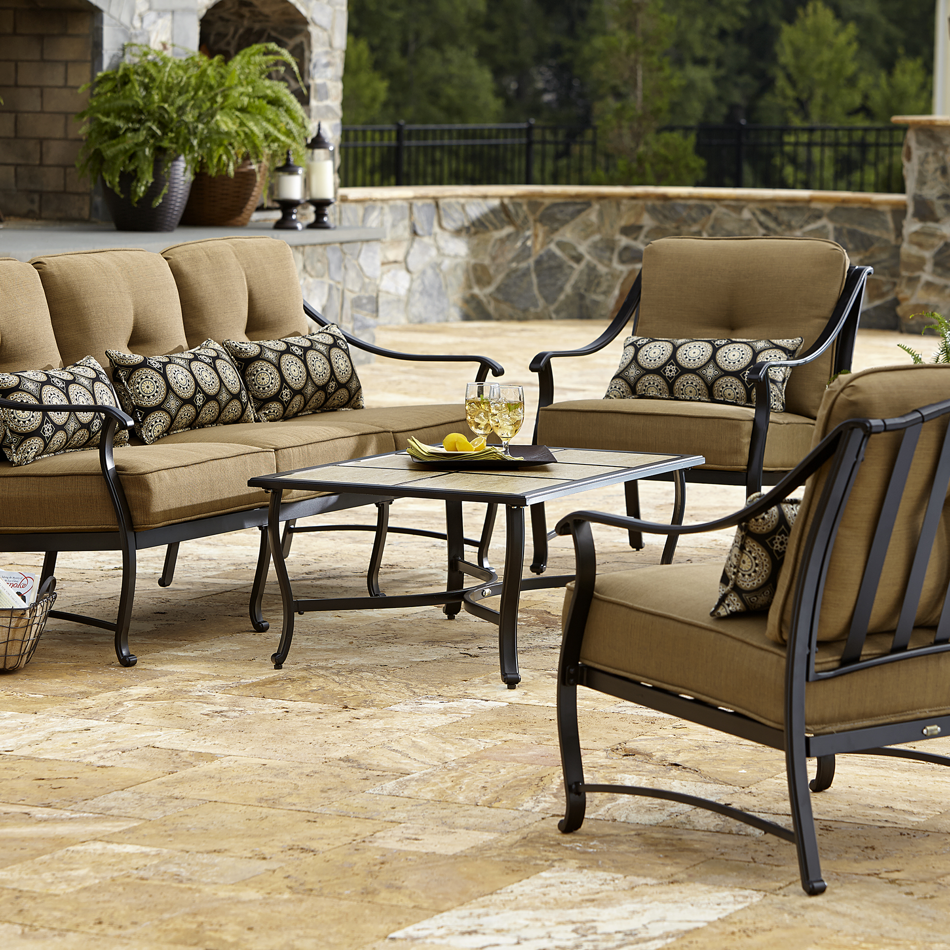 La-boy Outdoor Landon 4 Piece Seating Set