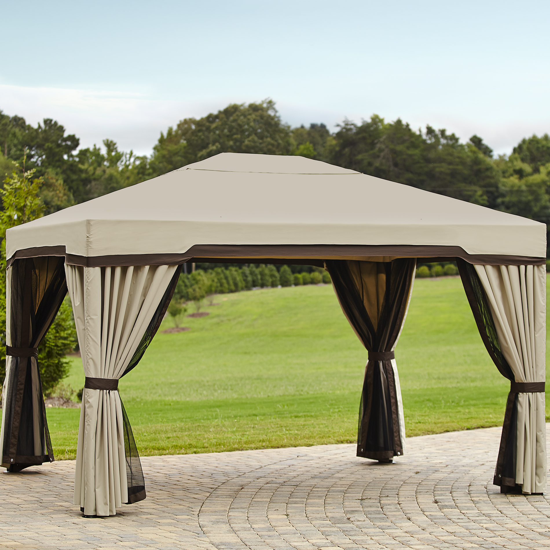 Outdoor Curtains For Gazebos Kmart