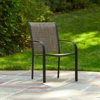 Essential Garden Bartlett Stackable Chair - Brown - Kmart