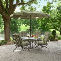 Jaclyn Smith Cora Dining Table with Lazy Susan