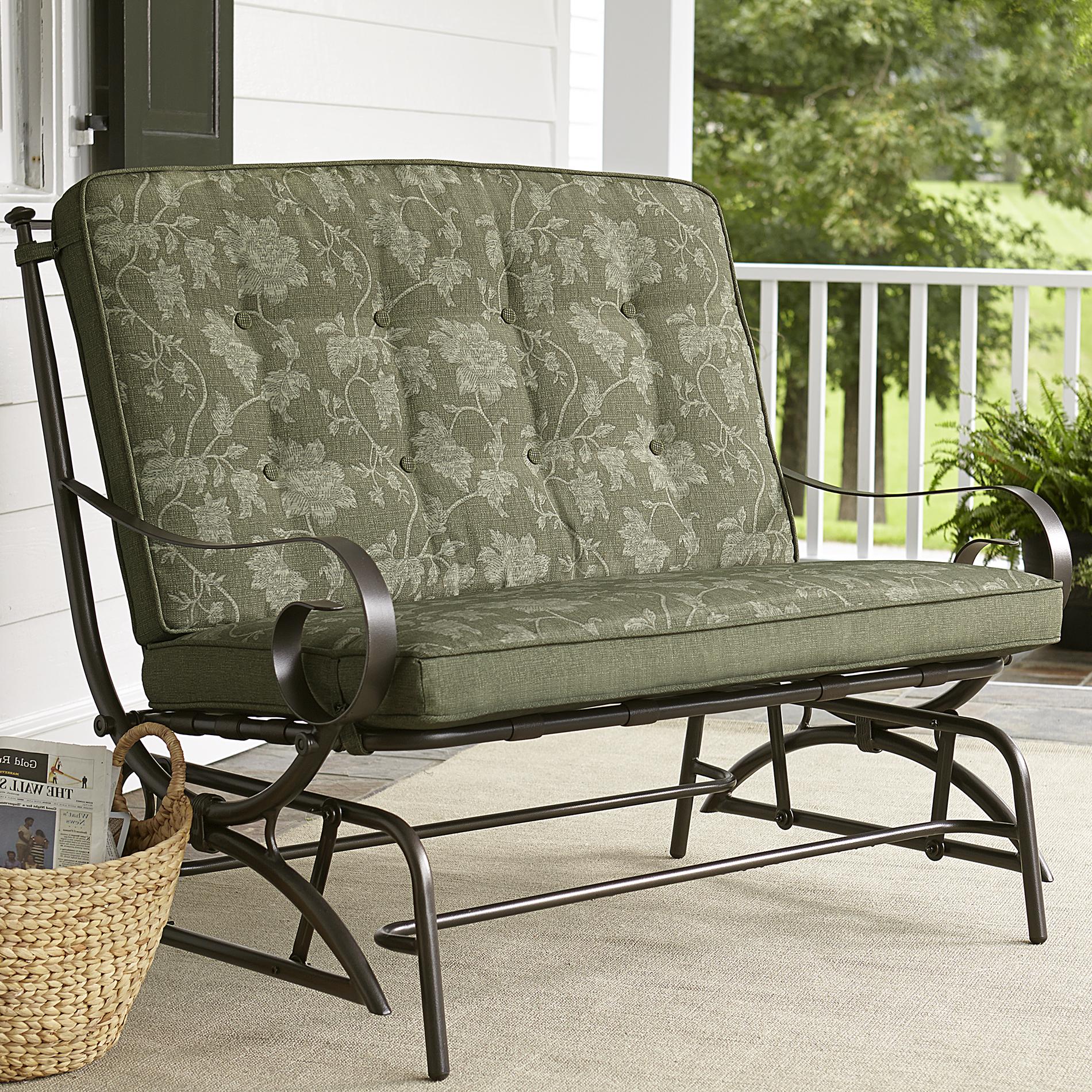 Jaclyn Smith Cora Cushion Double Glider