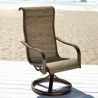 Grand Harbor Edgewater Single Swivel Chair - Outdoor ...
