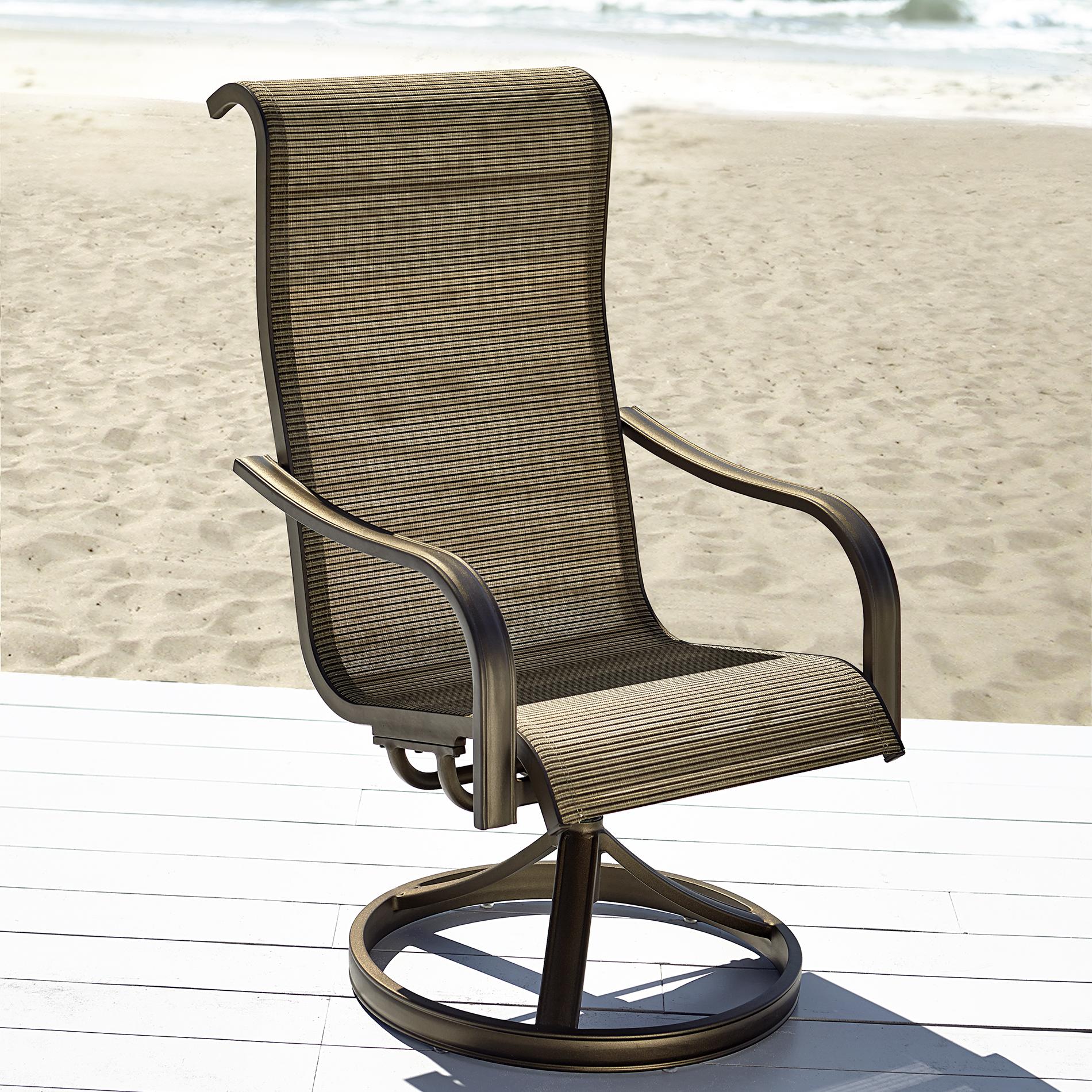 Grand Harbor Edgewater Single Swivel Chair - Outdoor