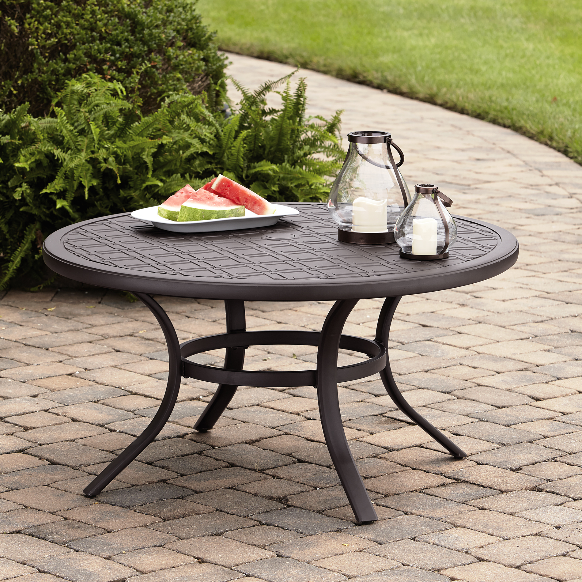 Grand Harbor Hopkins 5-piece Chat Set Table Patio