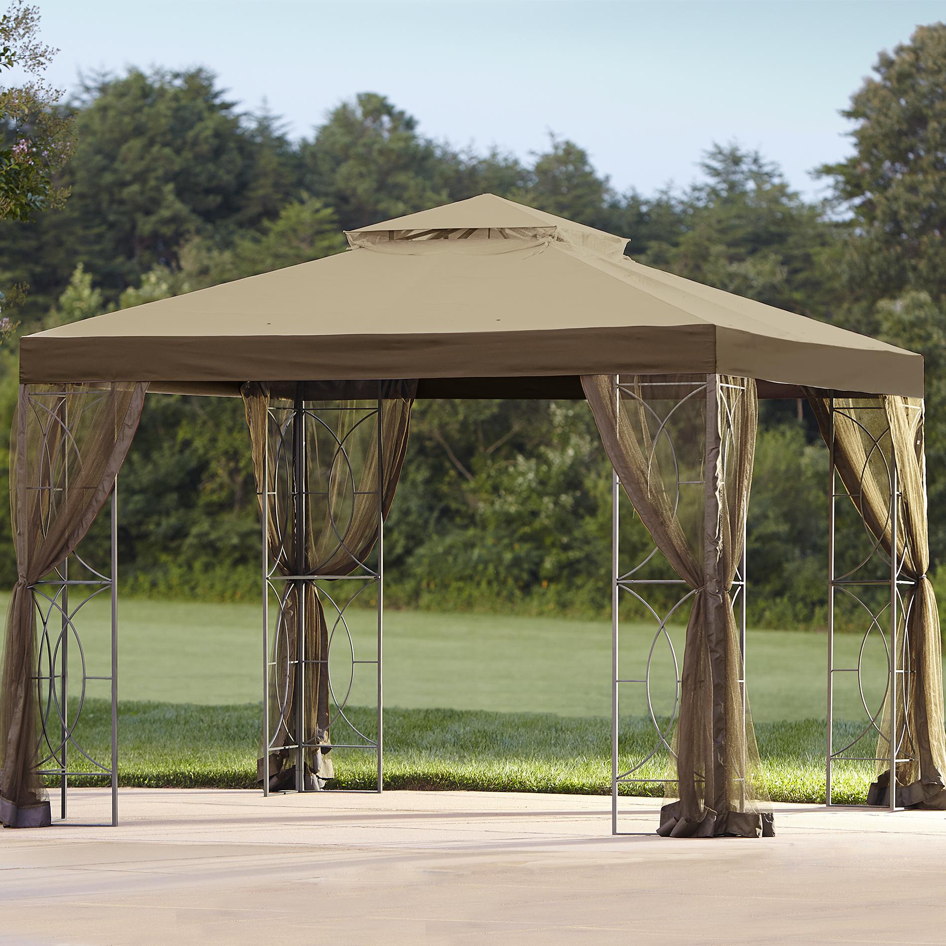 Essential Garden Callaway Gazebo Replacement Canopy Top