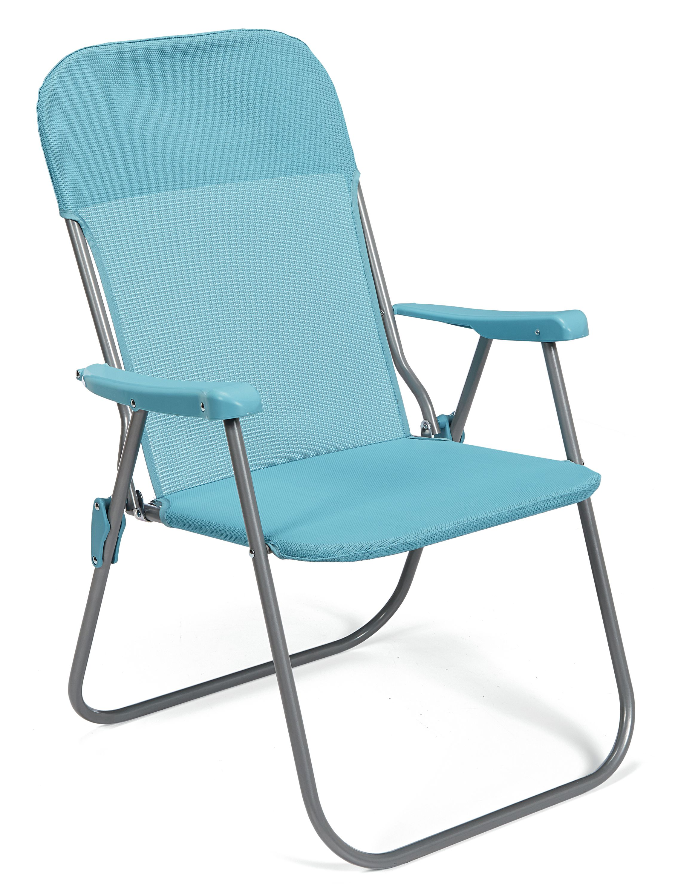 outdoor chairs kmart bleacher with backs bbq pro folding chair blue living patio