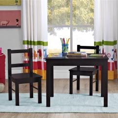 Kids Table And Chair Set Kmart Cherry Rocking Dorel Home Furnishings Hazel Espresso 2