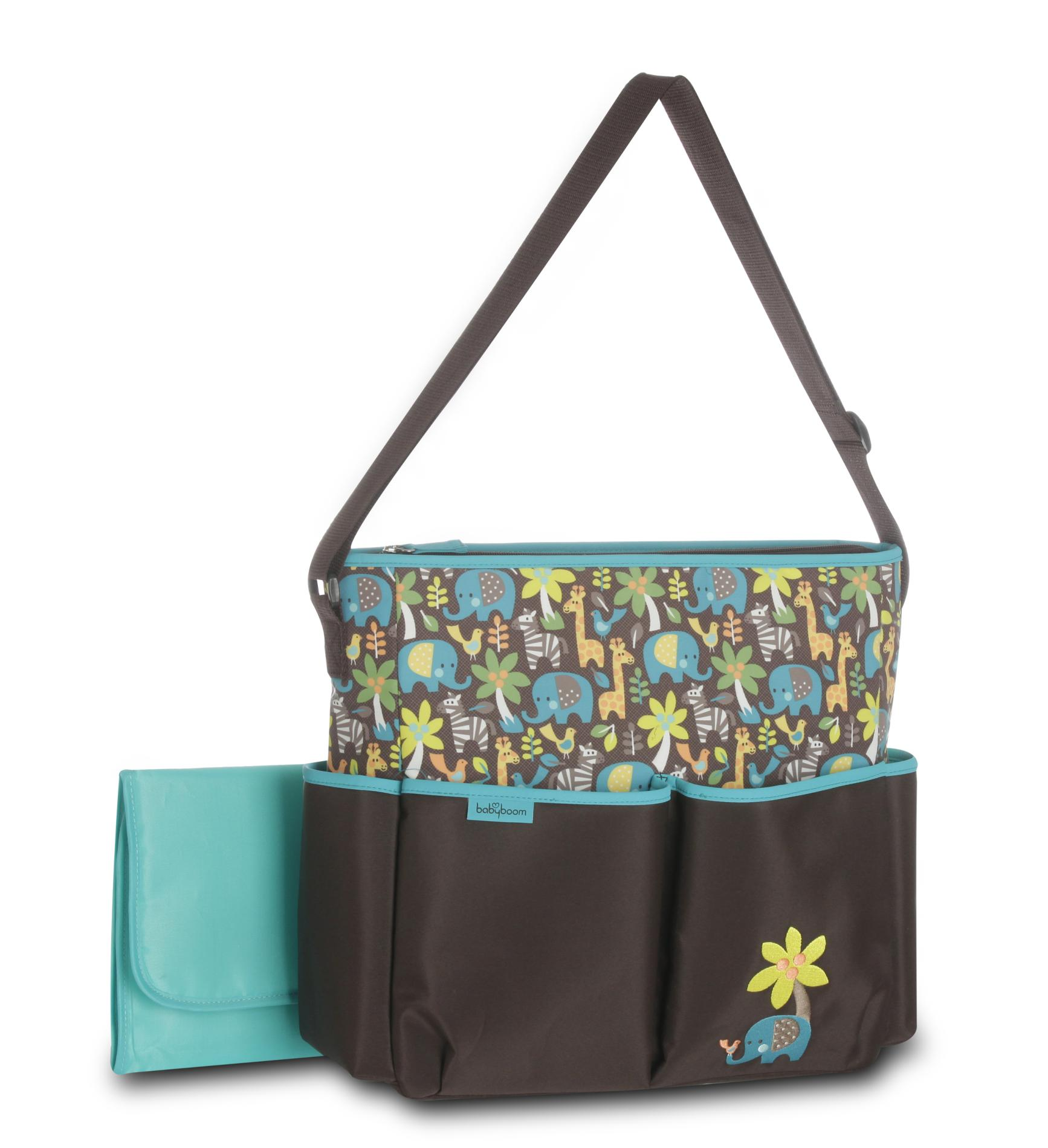 Baby Boom Diaper Bag & Changing Pad - Elephant