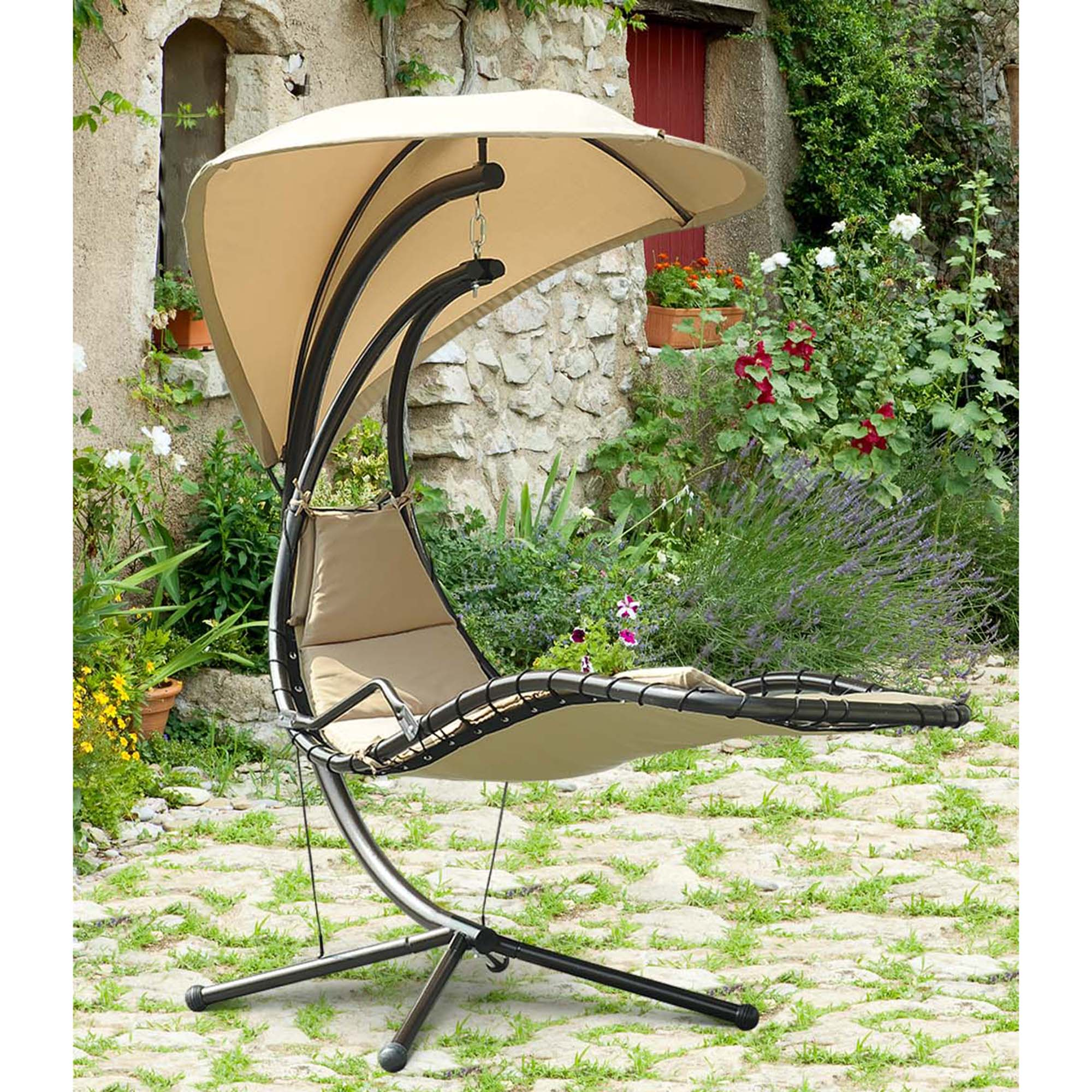 swing chair over canyon pod sunjoy mentor single seat patio