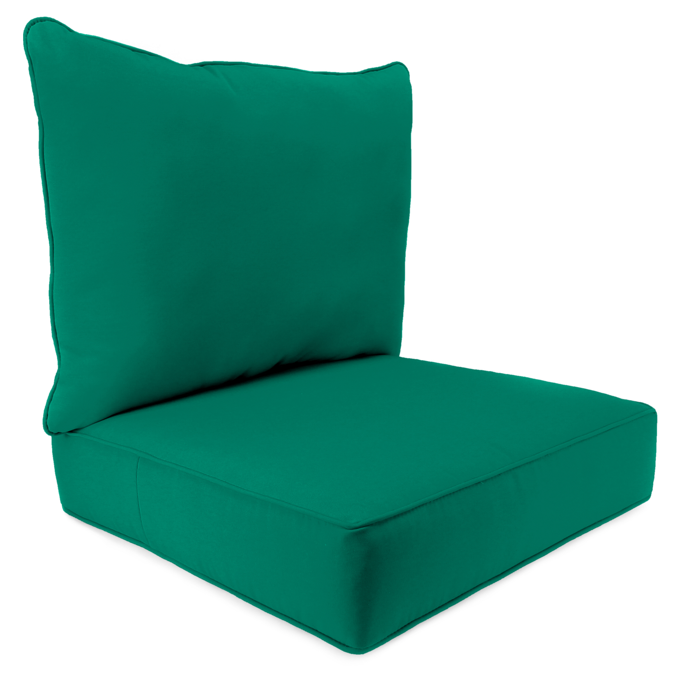 teal chair cushions covers of yorkshire jordan manufacturing co inc 2 piece patio deep seat