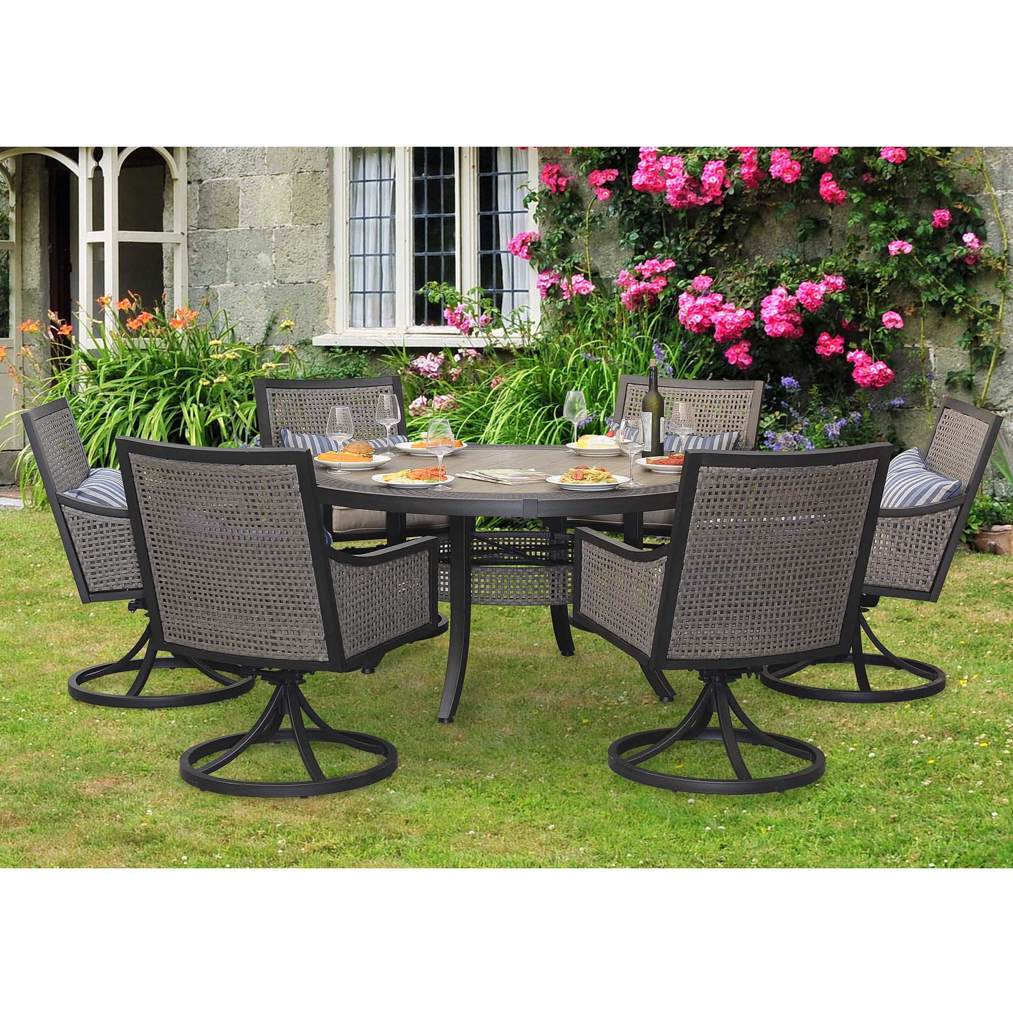 baby chairs to help sit up camping rocking chair sunjoy 7-piece myna patio dining set