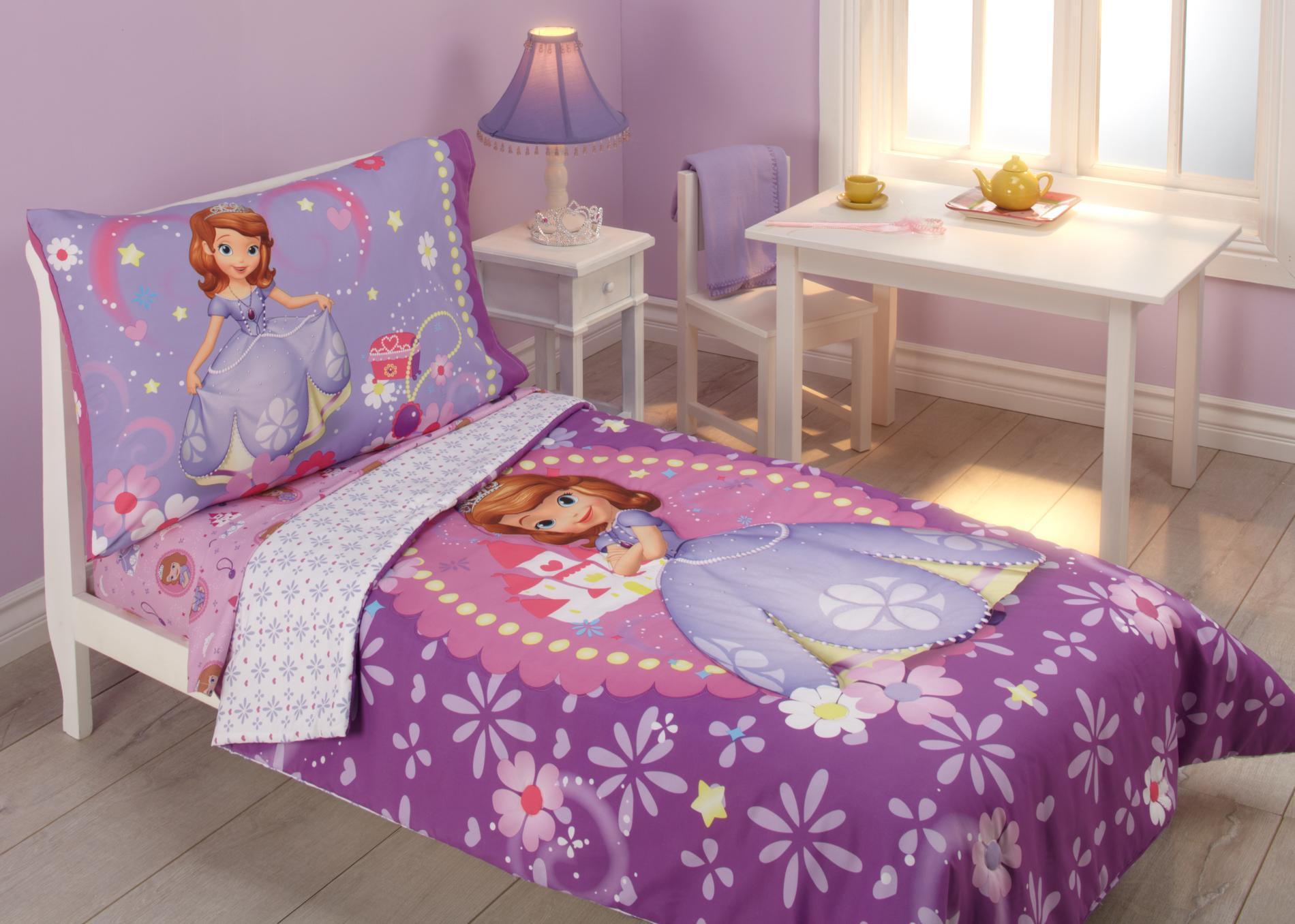 Disney Sofia Toddler Girl' 4-piece Bedding Set - Baby Sets