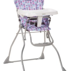 How To Fold Up A Cosco High Chair Computer Chairs On Sale Slim Marissa Baby Feeding