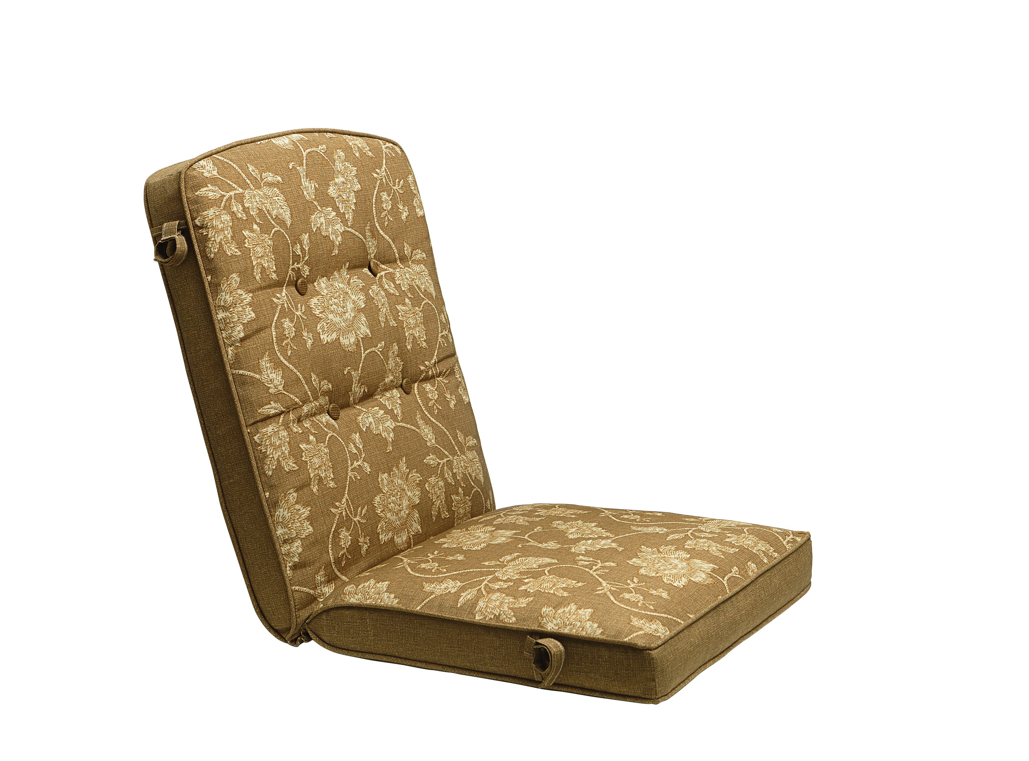 kmart chair cushions baby high chairs at target jaclyn smith cora replacement golden brown cushion - outdoor living patio furniture ...