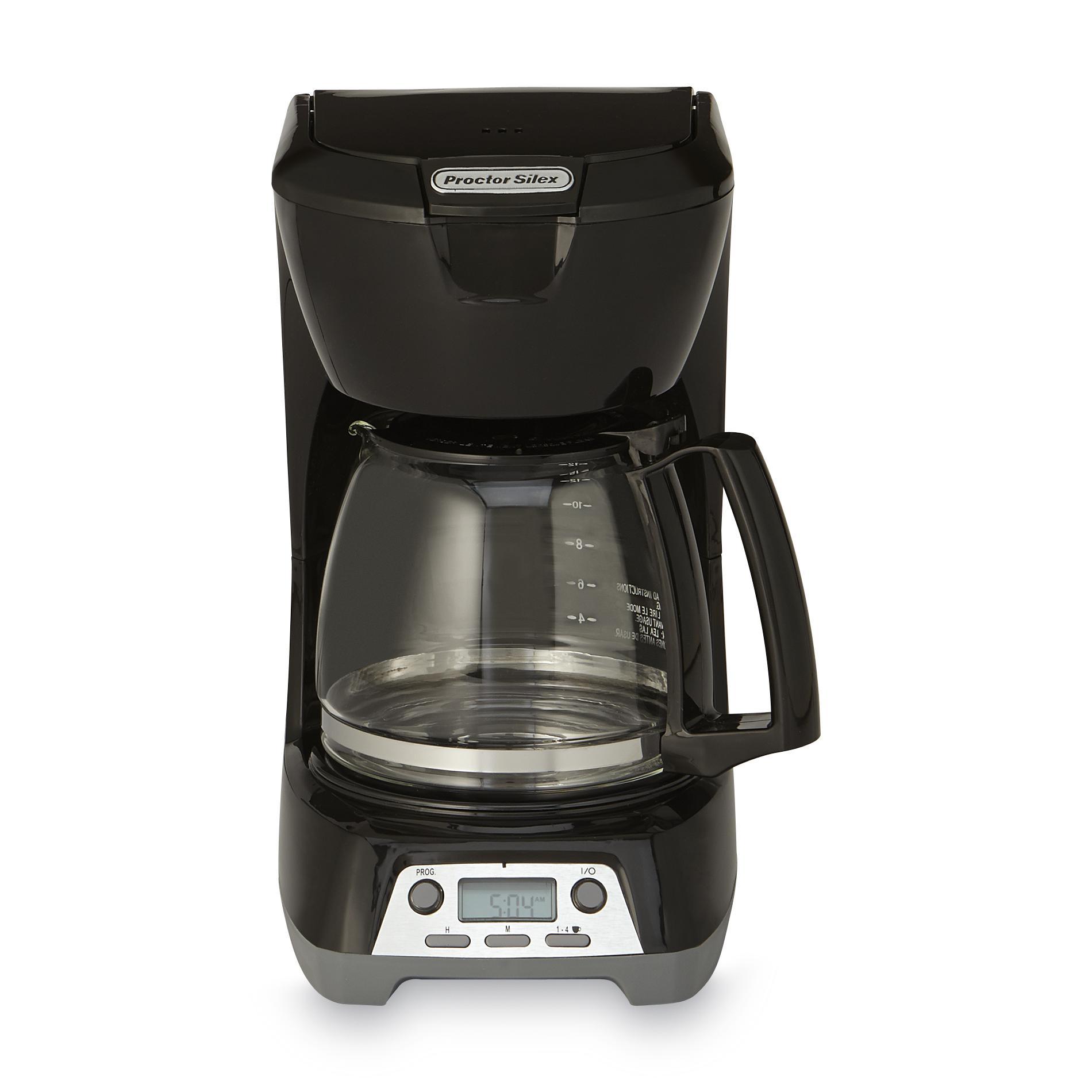 Proctor Silex 43672 12-cup Programmable Digital
