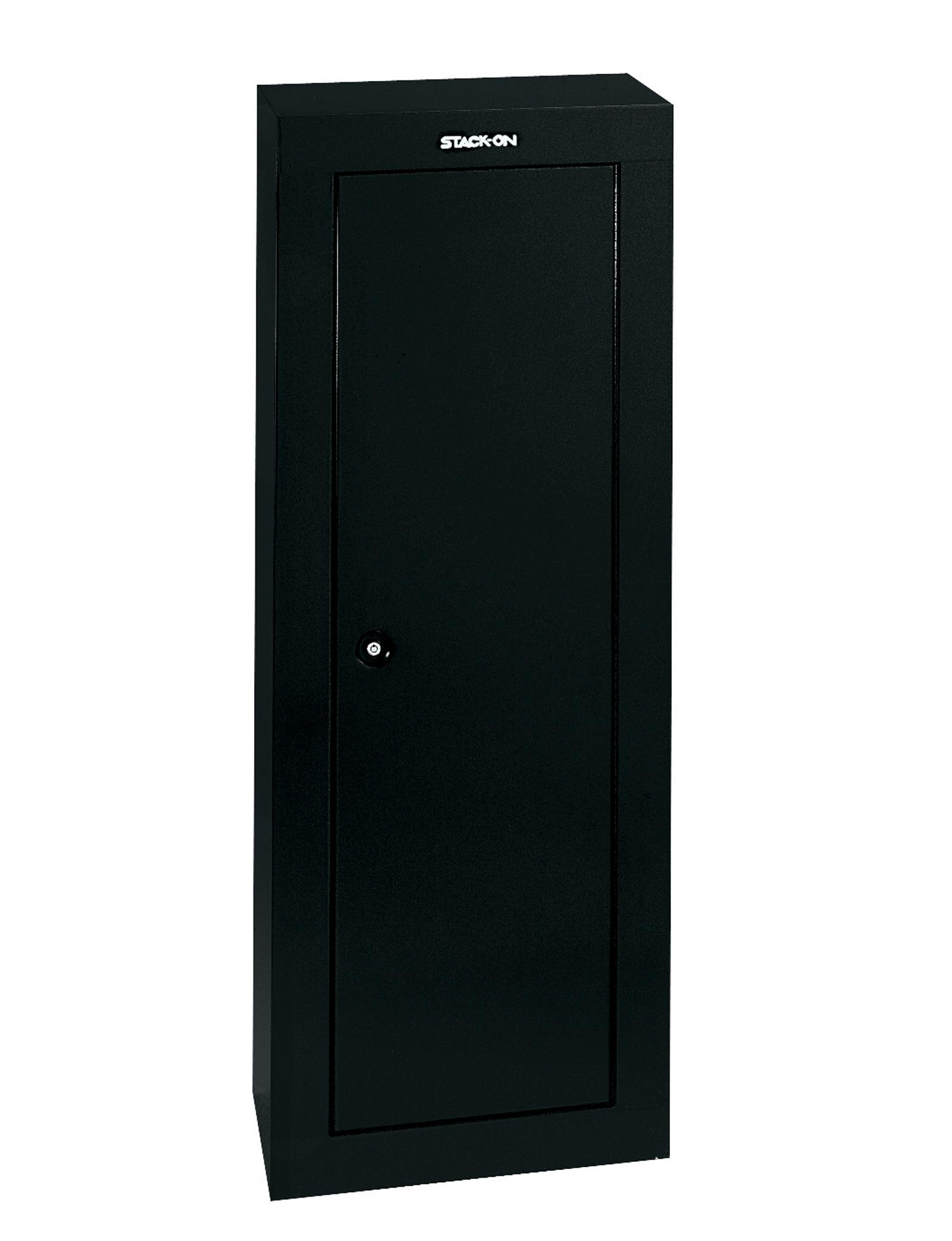 StackOn 8Gun Security Cabinet Black