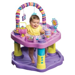 Walker Bouncing Chair Banquet Covers With Arms Exersaucer Bounce And Learn