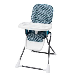 Rainforest High Chair Posture Recliner Fisher Price Easy Fold Clean