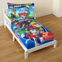 Nickelodeon PAW Patrol Toddler Boy's 4-Piece Bedding Set ...