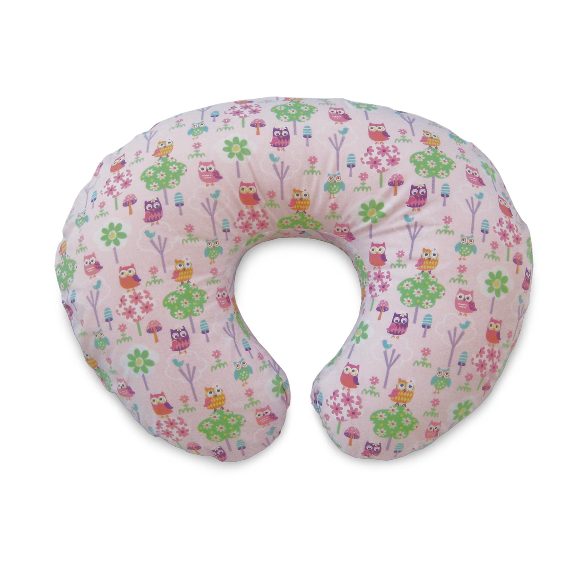 Boppy Printed Boppy Pillow Slipcover  Owls  Flowers