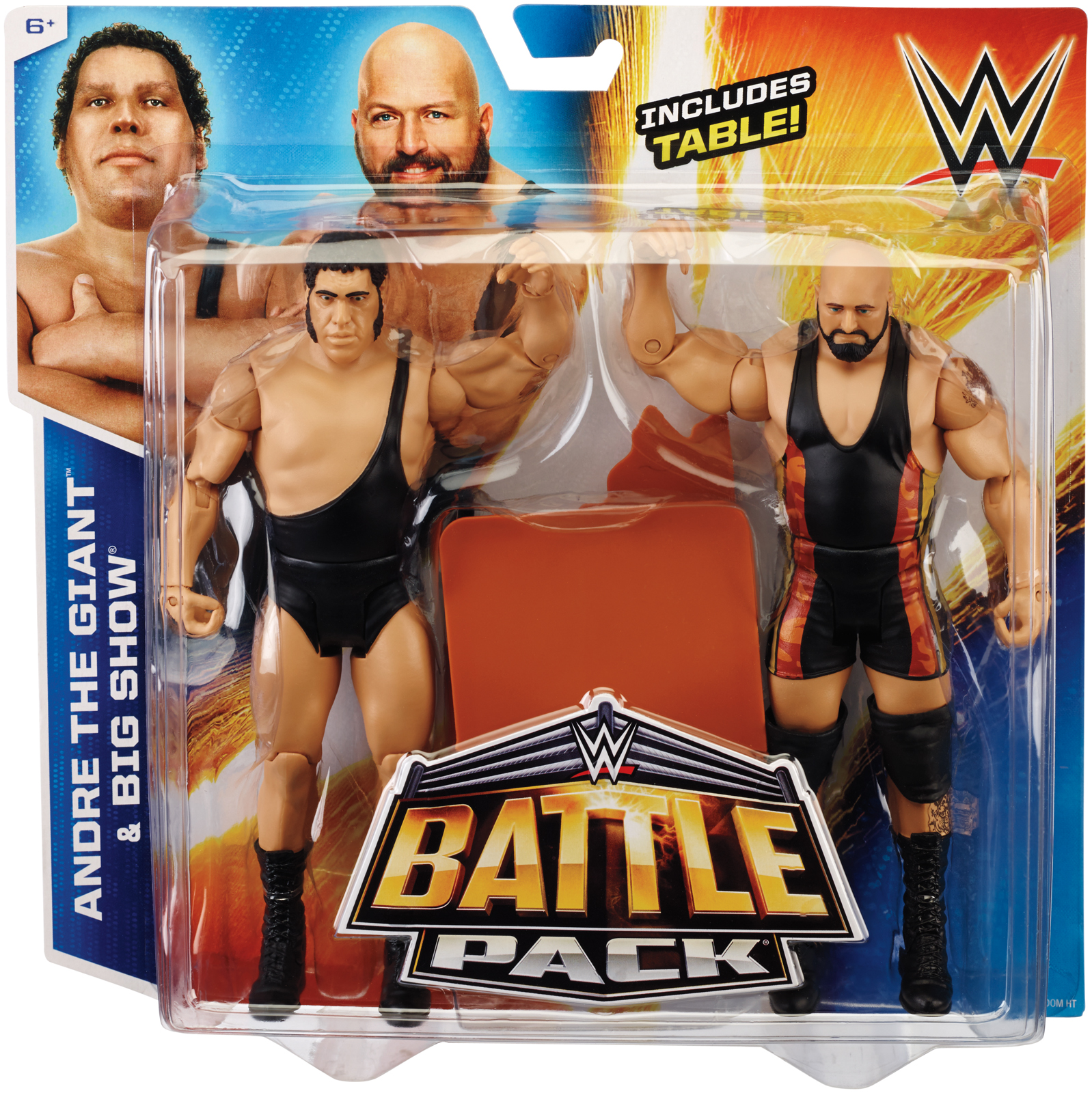 WWE Andre The Giant Amp Big Show Battle Packs 33 Toy