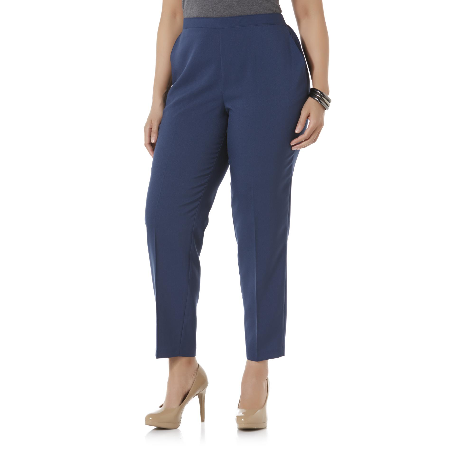 Laura Scott Women' Comfort-waist Pants - Short Length
