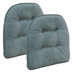 Chair Pads Non Slip Bedroom Gumtree Glasgow The Gripper Cushion Twillo Marine Blue Set Of 2