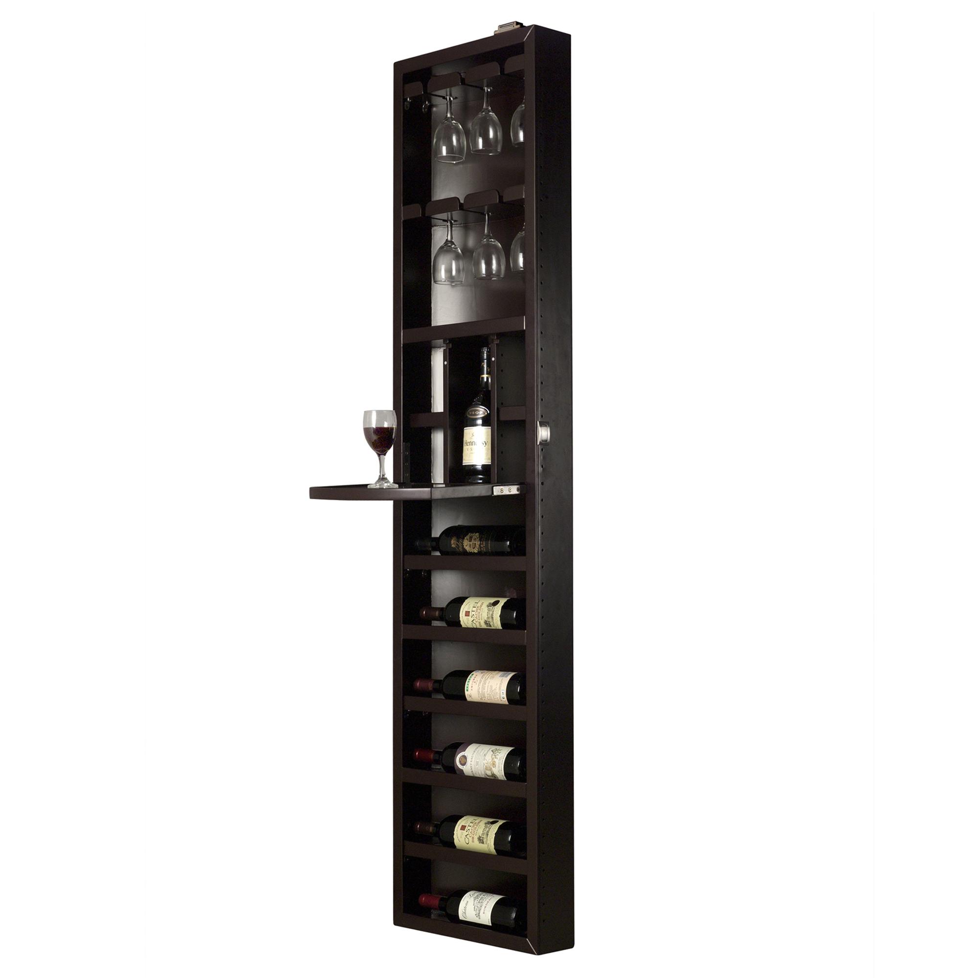 Cabidor Espresso Wine Steward Storage Cabinet