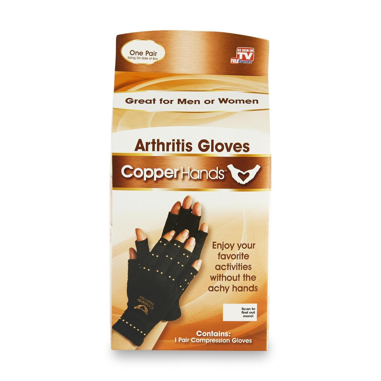 Tv Copper Hands Arthritis Gloves