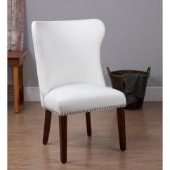Sears Accent Chairs Captain For Pontoon Boats Dorel Home Furnishings Bailey White Chair With