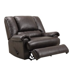 Faux Leather Chair And A Half Rent Tables Chairs Near Me Dorel Home Furnishings Stanford Espresso Recliner 2