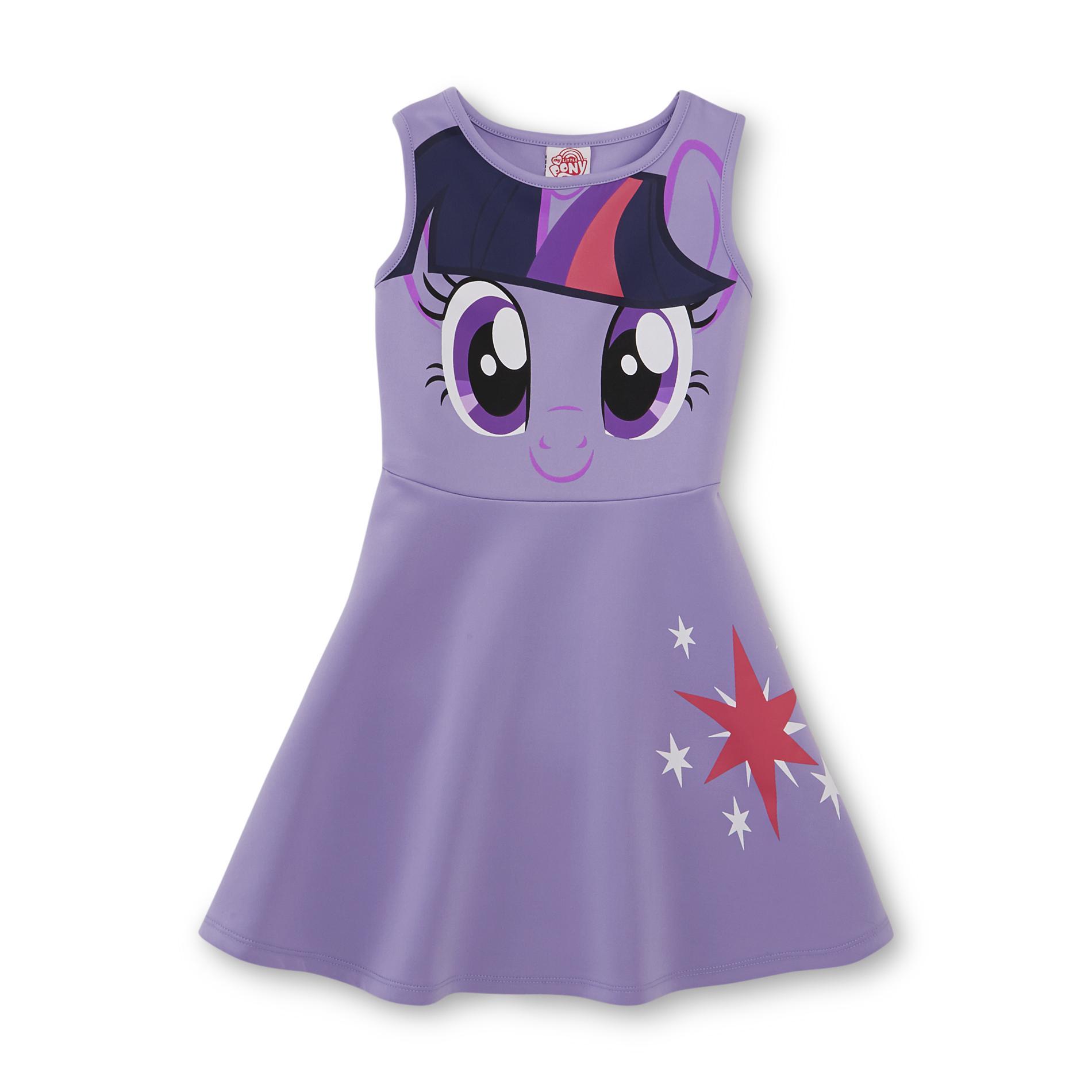 Little Pony Girl' Fit & Flare Dress - Twilight Sparkle