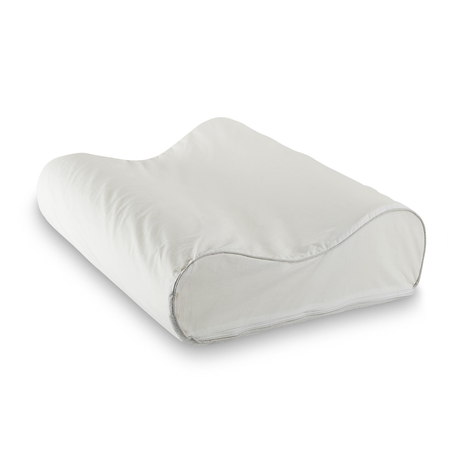 Sleep Innovations SureTemp Memory Foam Contour Pillow
