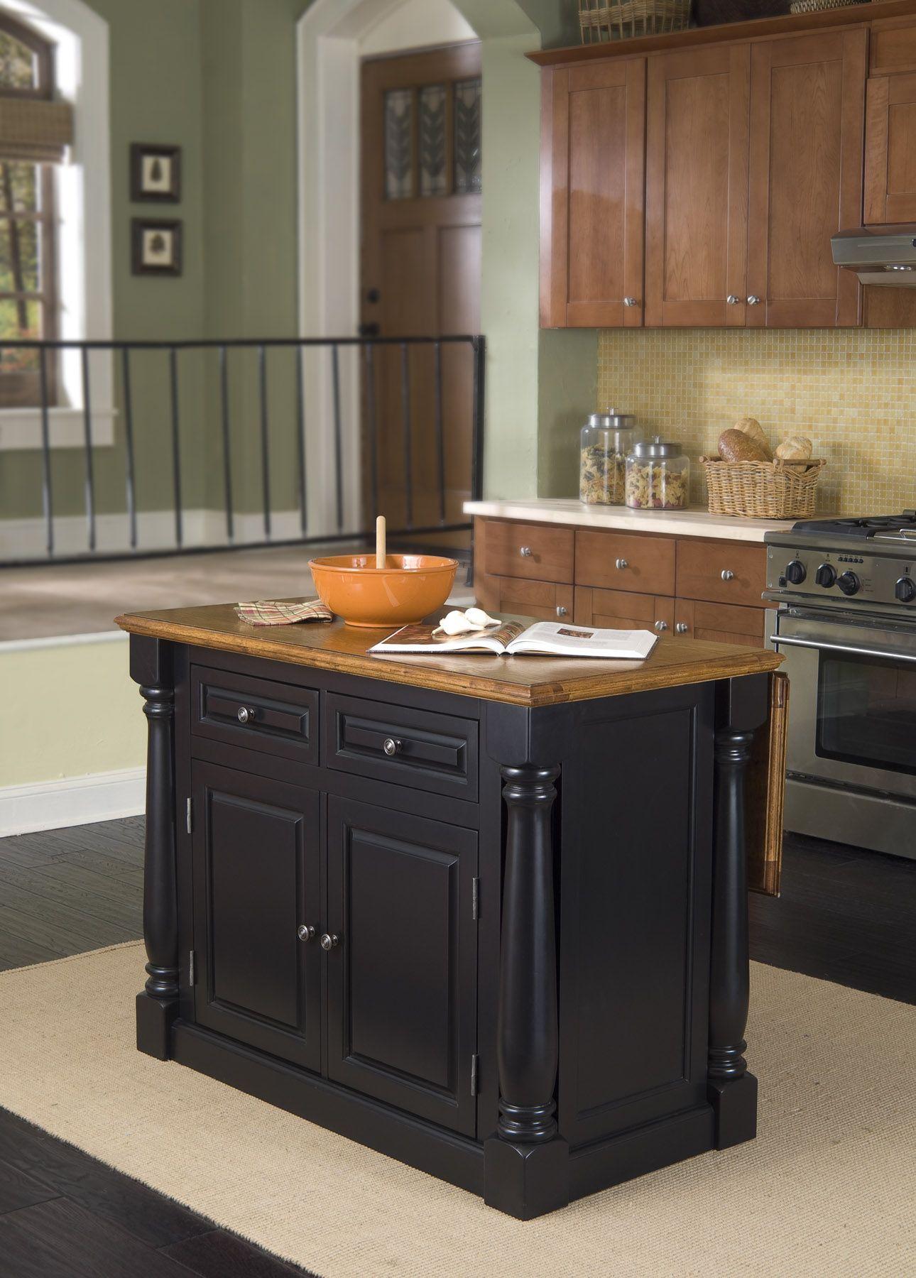 home styles monarch kitchen island cabinets columbus hidden leg