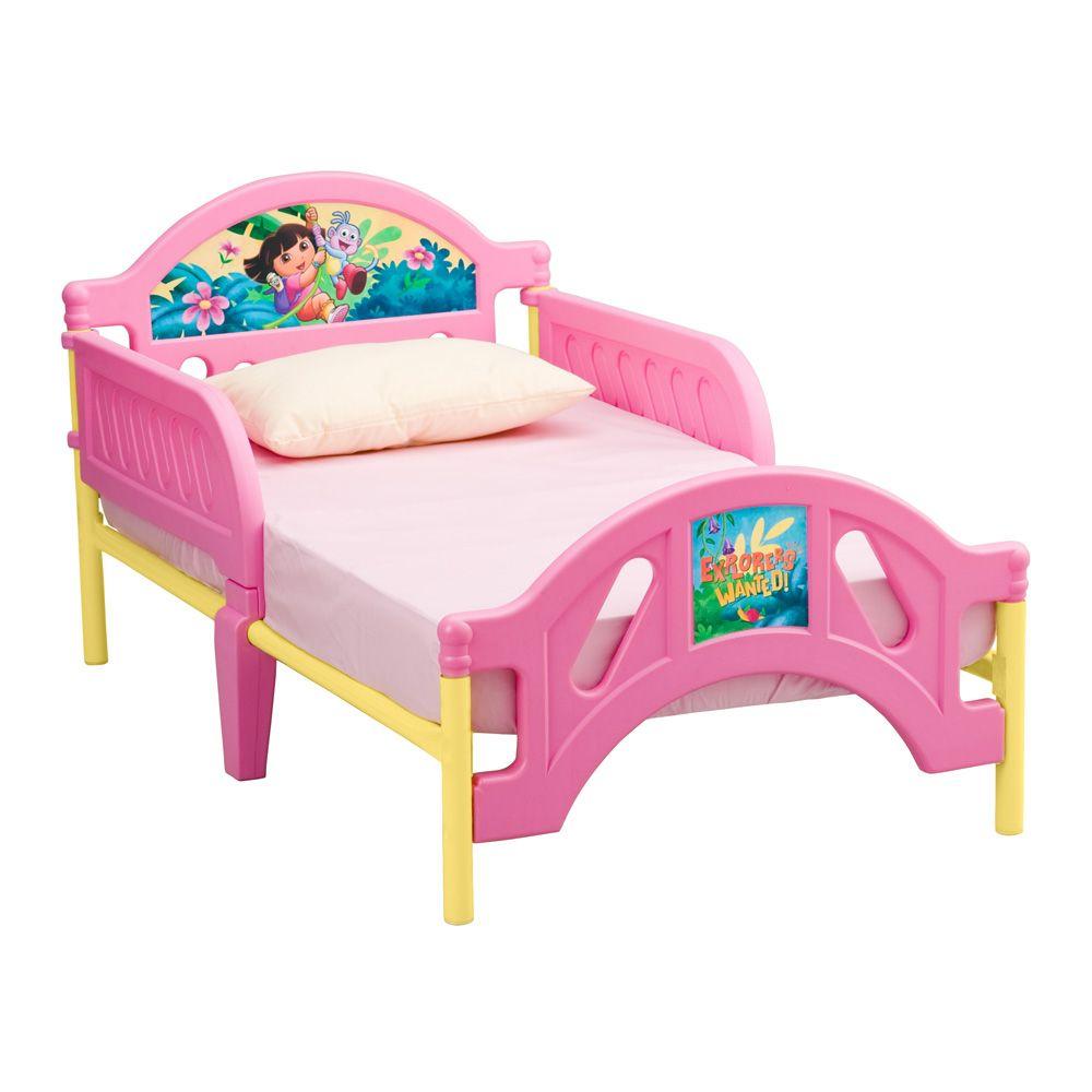 Delta Children Nickelodeon Dora Explorer Toddler Bed