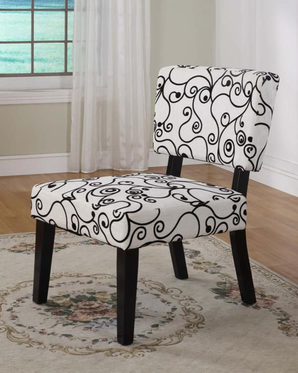 cheap accent chair hot pink chairs kmart linon taylor white black circles