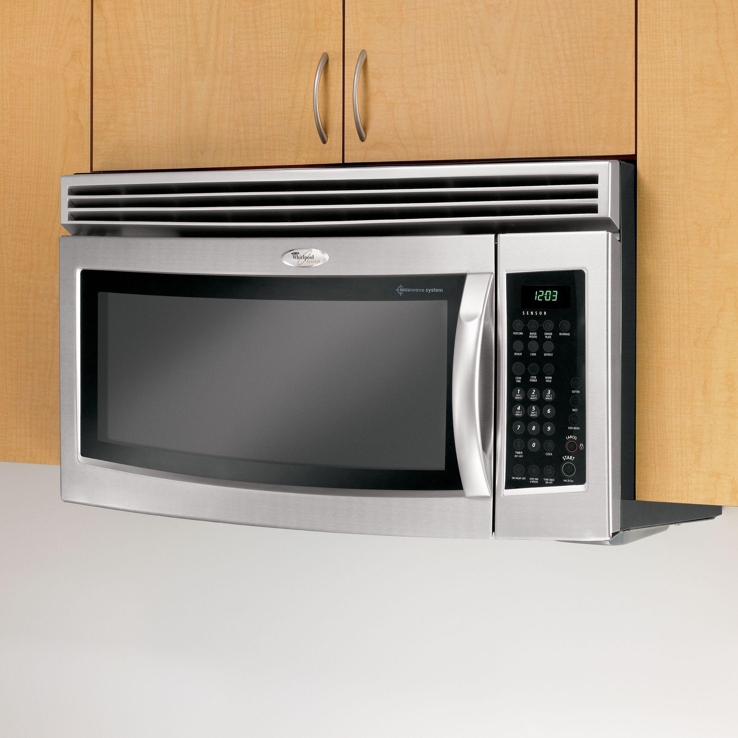 Whirlpool Over Range Microwave 1.8 Cu. Ft. Gh5184xp - Sears