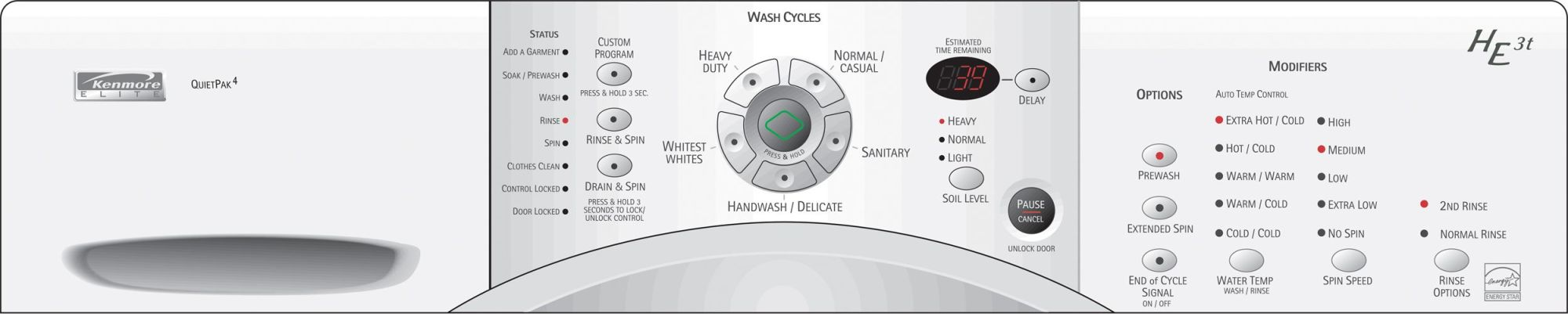 hight resolution of kenmore elite he3 washer problems kenmore he3t parts manual