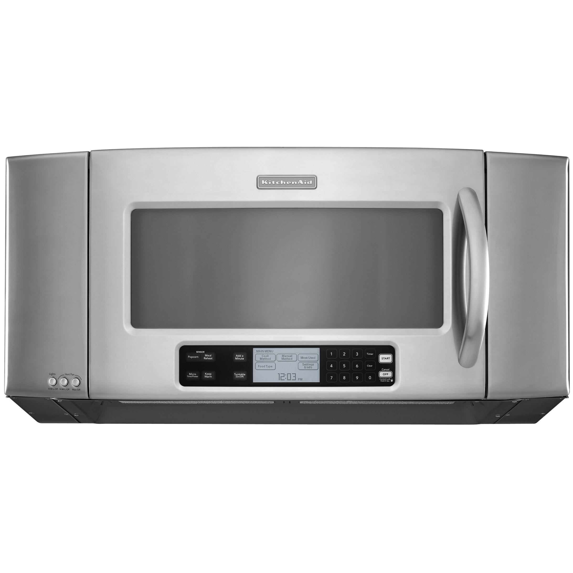 kitchen aid microwaves 3 in 1 kitchenaid khms2056sss 36 quot 2 cu ft sensor