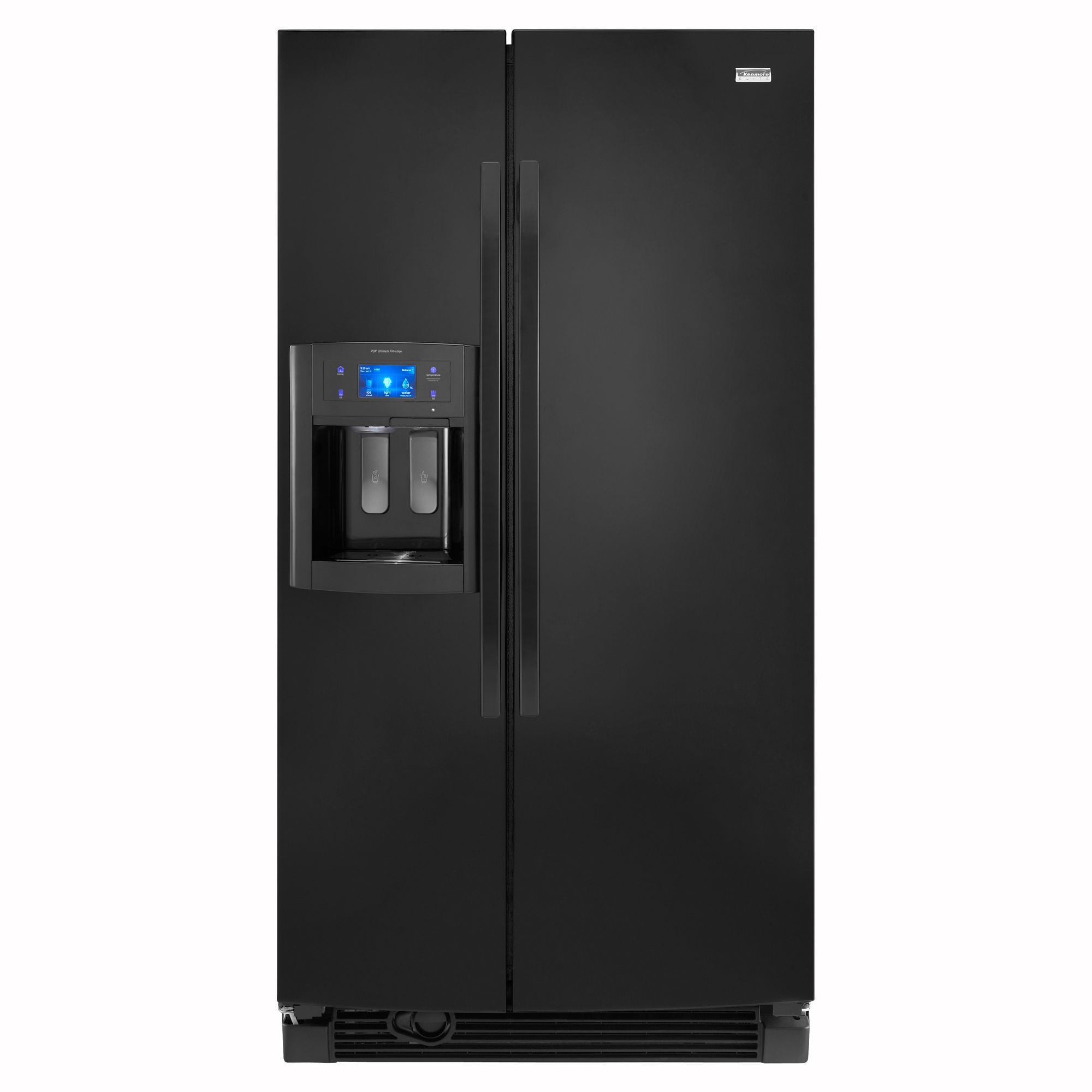 Kenmore Elite 25.1 Cu. Ft. Side-side Refrigerator With Shaved Ice 5044 Energy Star