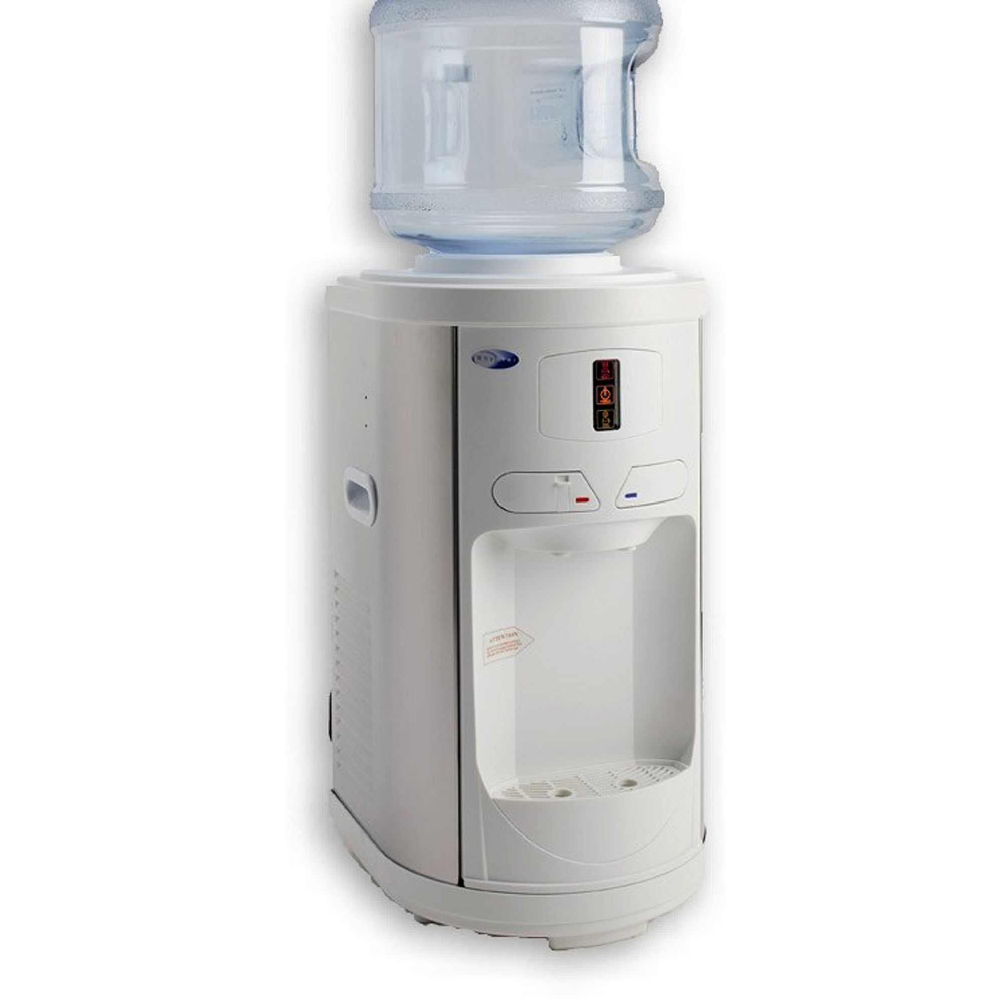 kitchen water dispenser outside cabinets whynter table top hot cold white