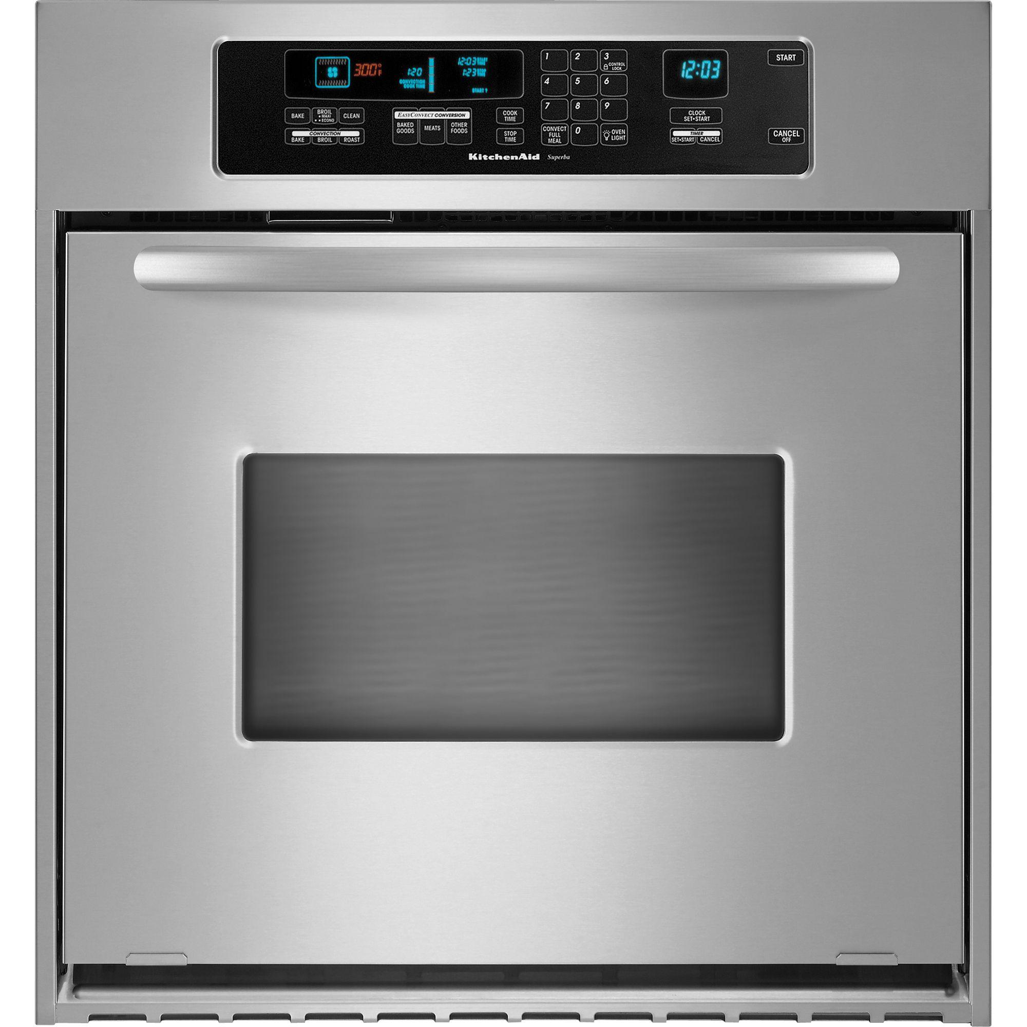 kitchen aid wall oven pendant light kitchenaid kebc147vss architect® 24