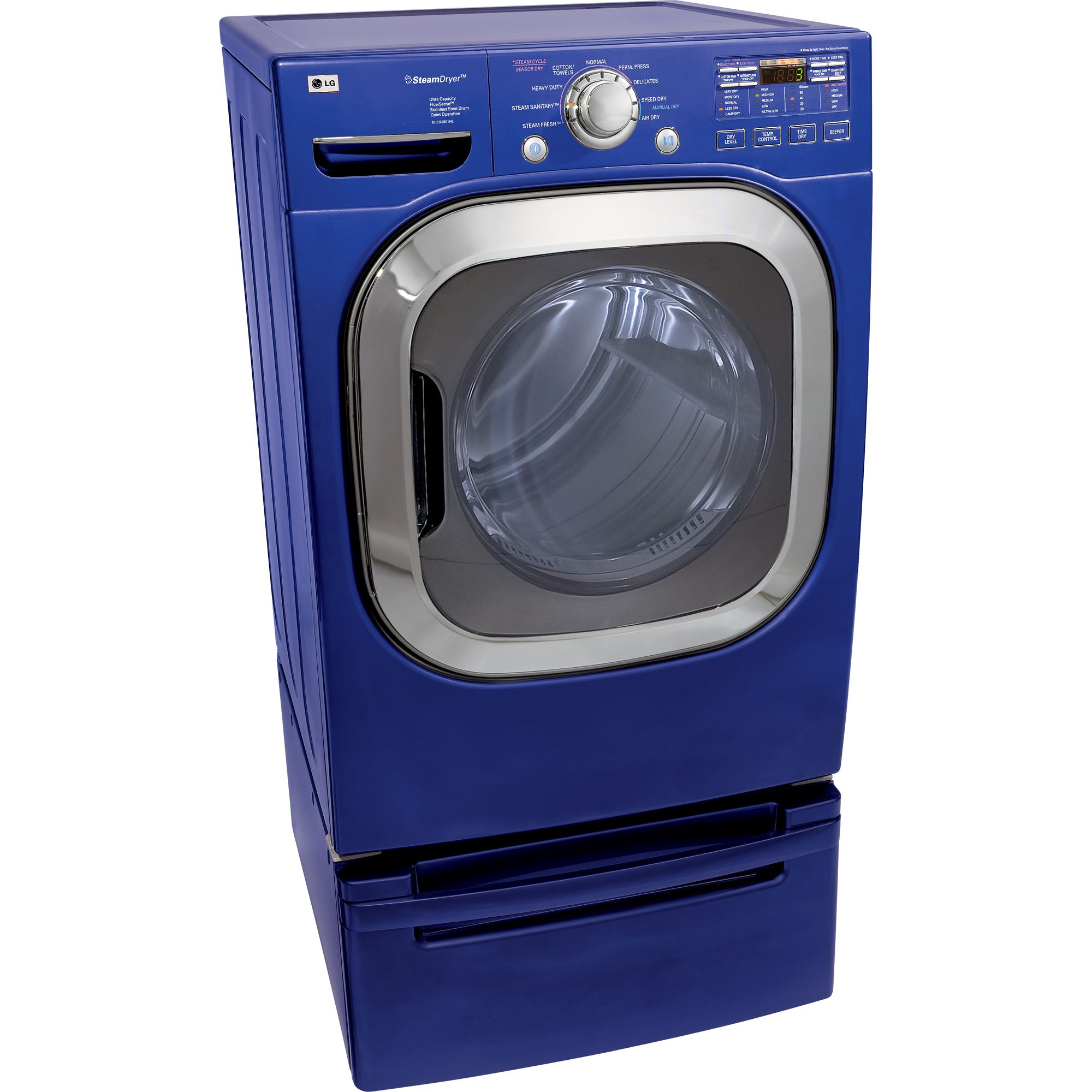 Lg Steamdryer 7.4 Cu. Ft. Gas Dryer - Dlgx2802 Appliances Dryers