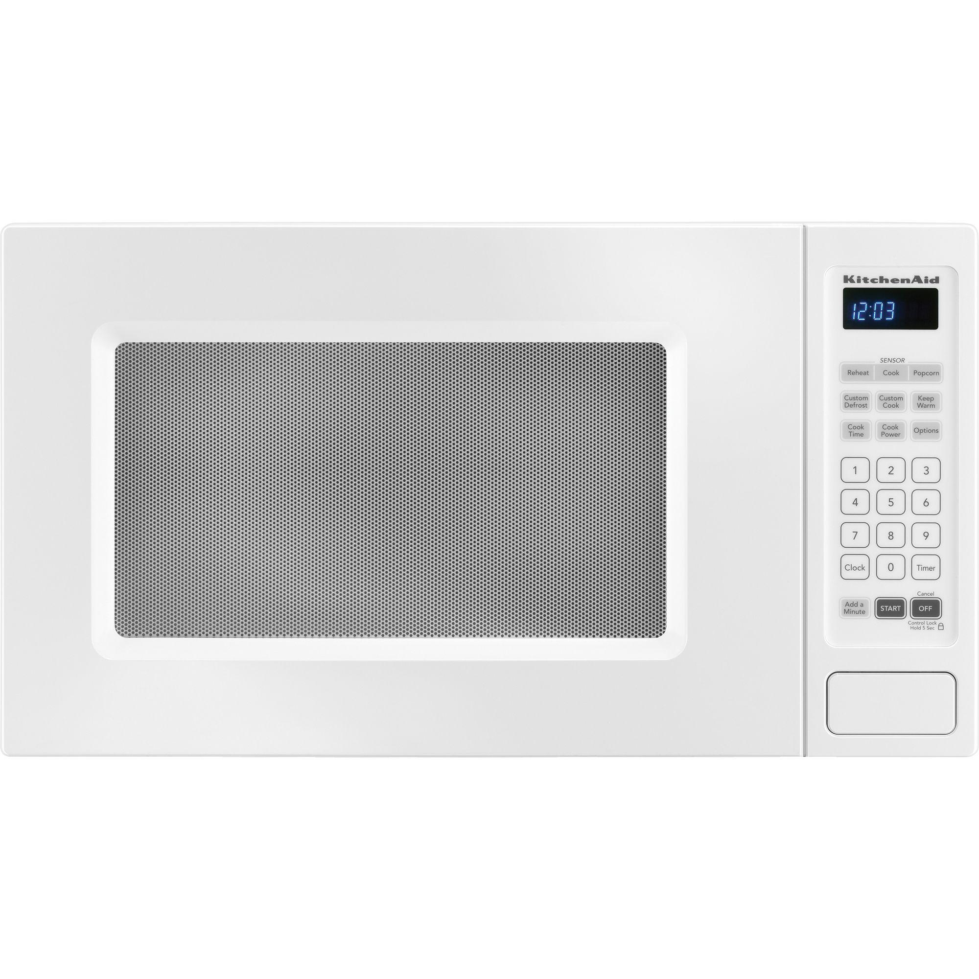 kitchen aid microwaves island hood kitchenaid countertop 1 5 cu ft kcms1555swh