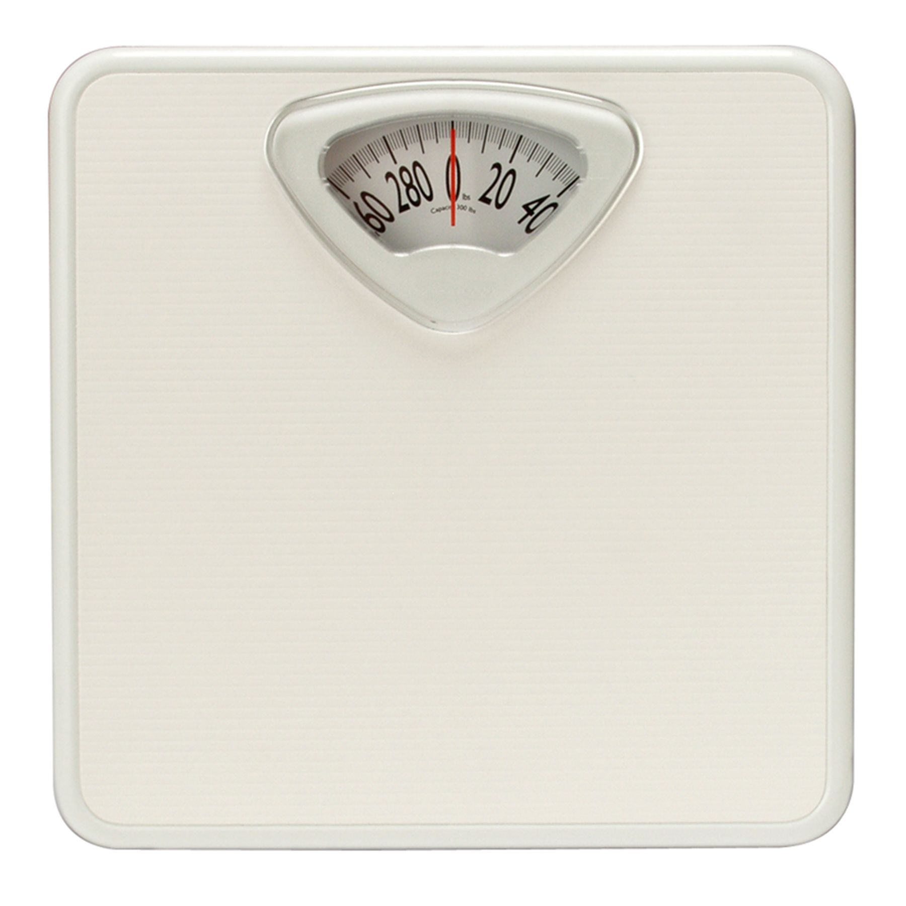 Taylor Scales Analog Bath Scale  White  Shop Your Way